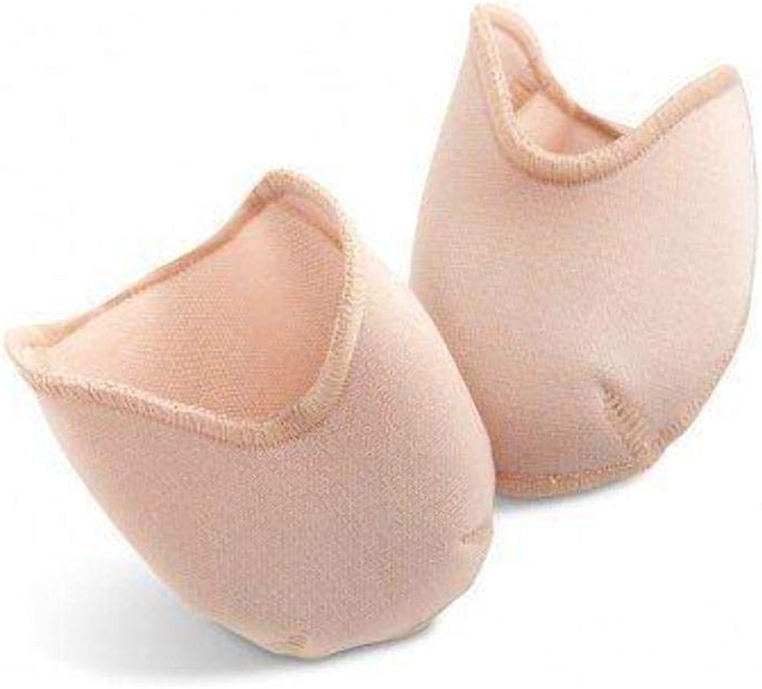 Capezio Womans Bunheads Dance Accessories PRO PAD, Cushiony Fabric Covered Gel Toes Pads, NUD, S