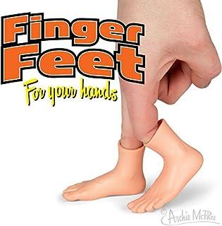 【Finger Feet 】フィンガーフィート 指につける足 左右ペアセット