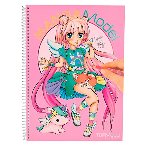 Cuadernos para colorear Multicolor TOP MODEL