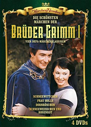 Märchen Klassiker: Brüder Grimm Box: Vier DEFA Märchen-Klassiker: Schneewittchen / Frau Holle / Dornröschen / Schneeweißchen und Rosenrot (1961-1978) [4 DVDs]