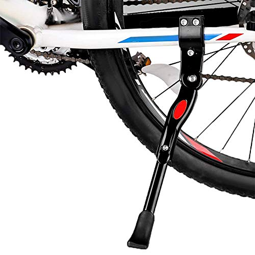 HZYWL Bicycle Kickstand Adjustable Bike Side Kickstand Bicycle Side Stand with Anti-Slip Rubber Feet Universal Bicycle Stand