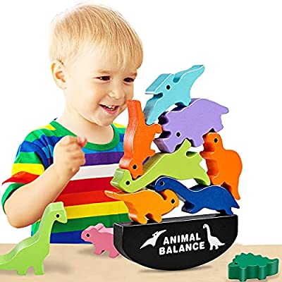 Amazon Promo Code for Toys for Kids 35 Wooden Stacking Blocks Toys 12102021050811