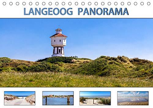 LANGEOOG PANORAMA (Tischkalender 2021 DIN A5 quer)
