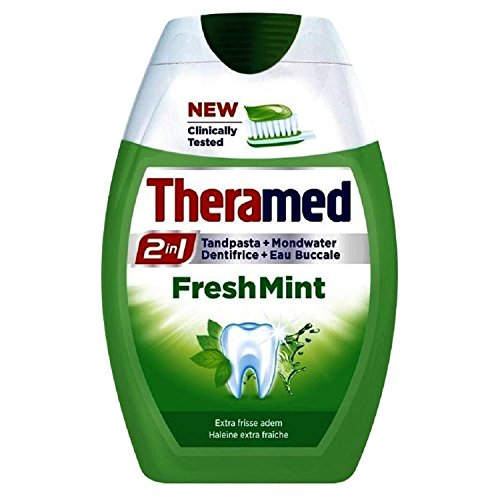 Theraline Theramed 2 In 1 Fresh Mint Tandpasta, 75 Ml
