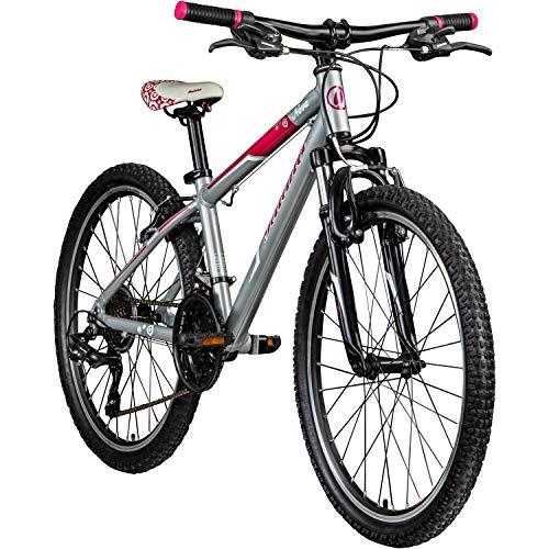 Galano Jugendrad 24 Zoll Mädchen Fahrrad Nova Mountainbike Hardtail 21 Gang 24