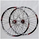 VPPV Juego de ruedas de 26 pulgadas para bicicleta de montaña de 29 pulgadas...
