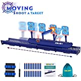 Obuby Kids Electronic Running Scoring Shooting Target for Boys & Girls Electric Auto Reset Digital Targets for Nerf Gun Practice Toys with Updated Moving and Static Modes