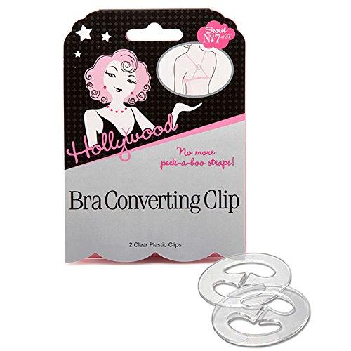 Hollywood Fashion Tape Hook-Ups Bra Converting Clip 2 clips by Hollywood Fashion Tape