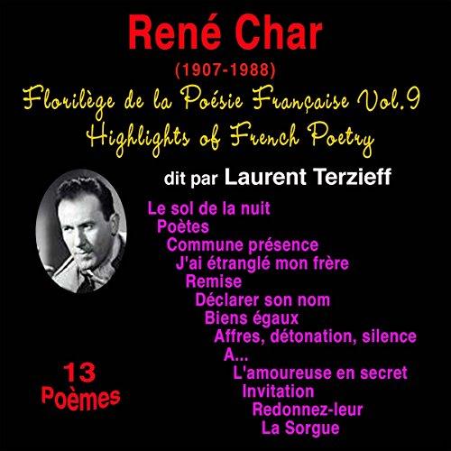 Couverture de René Char (Florilège de la Poésie Française 9)