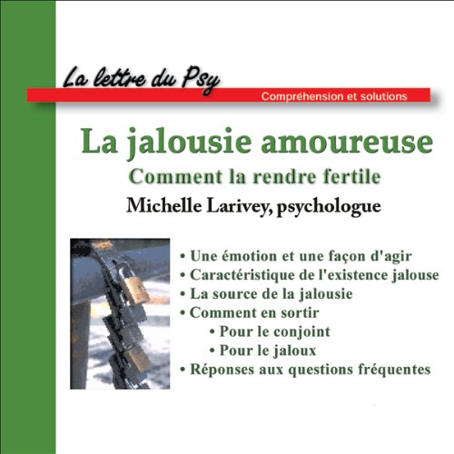 La jalousie amoureuse  audiobook cover art