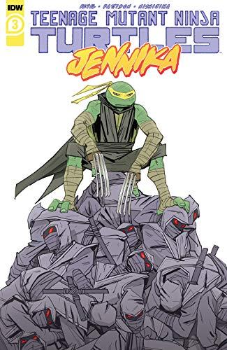 Teenage Mutant Ninja Turtles: Jennika #3 (of 3)