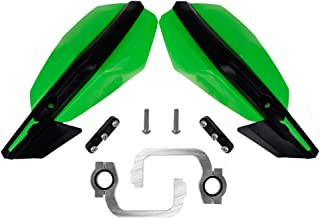 7/8 Inches 22mm Motorcycle Universal Handguards Hand Guard for Kawasaki KX KLX KXF KDX KX65 85 125 KX250 KX250F KX450F Enduro Suzuki ATV KTM 125 200 Duke MX Dirt off Motocross Road Bike Honda Green