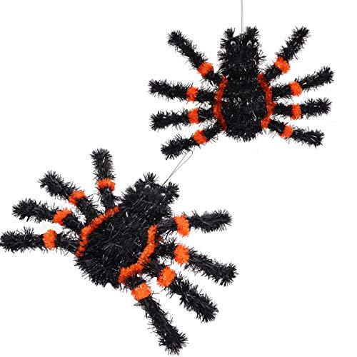 NUOBESTY Spinnenmodell Prime Langlebig Hochwertige Robuste Spinnenstütze Spinnenstreich Spielzeug Spinnenmodell für Kinderparty 2St