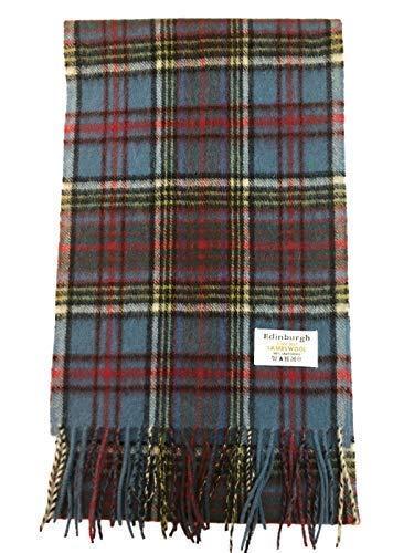 edinburgh pure lambswool scottish scarf