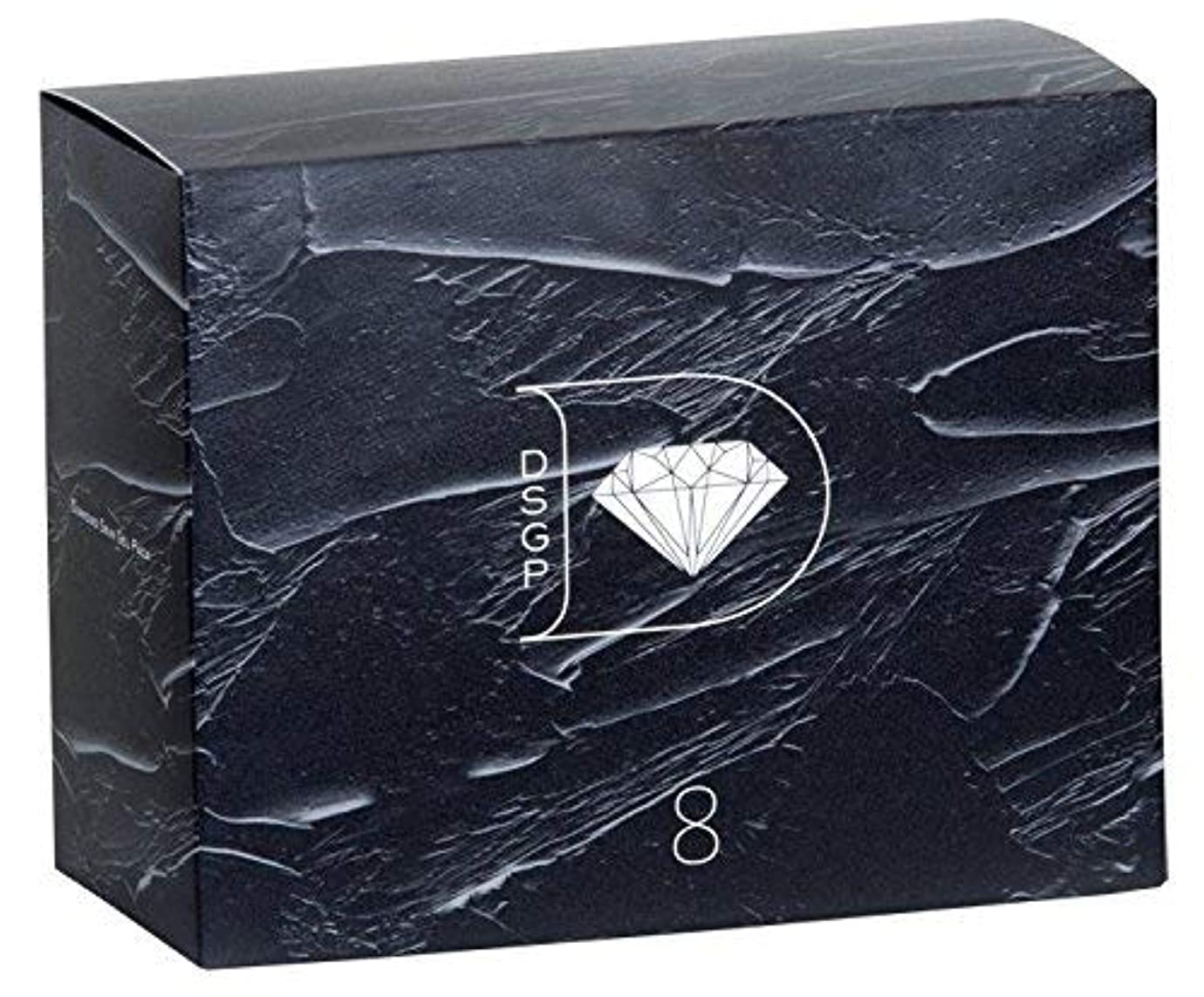乱れ浸透するストライプダイヤモンドスキンジェルパック×1箱 (8回分) 1回のパックで実感、もっちり肌。 琉球粘土×高濃度炭酸ガス フェイスパック