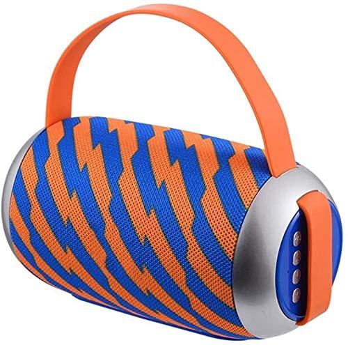 Mopoq Bluetooth Lautsprecher Audio - Außen tragbaren Mini-Wireless-Karte U Disk Lautsprecher Player Radio Subwoofer Kleiner Sound / 160x80x80mm Lautsprecher (Color : D)
