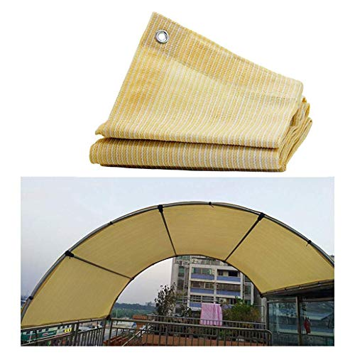 Sail Shade for Garden, Awnings Shelter Sun Shade Sail Canopy Garden Shading Net Shade Cloth 85% UV Resistant For Pergola Patio Awnings And Canopies Net Outdoor Gazebo Terrace Patio Garden Party Decora