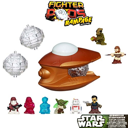 Star Wars Fighter Pods Rampage Battle Game Serie 4 Turbo Starter Geonosian A1031