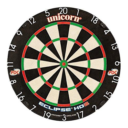 Unicorn Dart Board Eclipse Hd2 Tv Edition Bristle Board, Schwarz, Einheitsgröße