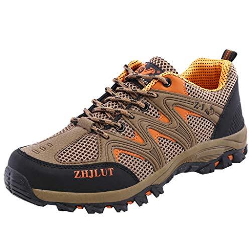 catmoew Paare Nettofläche Atmungsaktiv Wanderschuhe Draussen rutschfest Zu Fuß Gittergewebe Wandern Kletterschuhe Sneakers