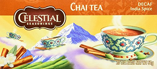 Celestial Seasonings Decaf India Spice Chai, 6er Pack (6 x 64 g)