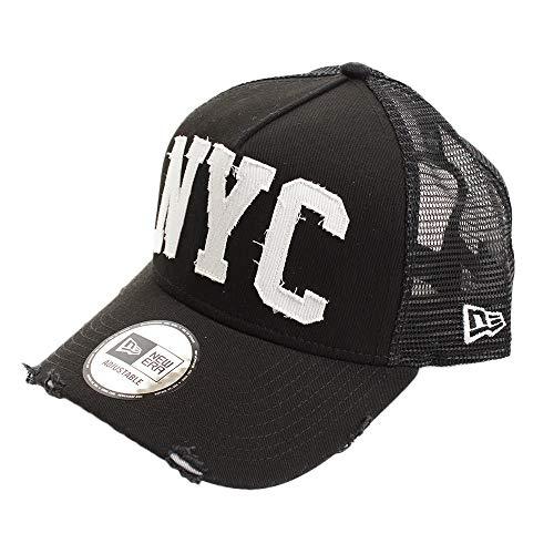[ニューエラ] 940 スナップバック キャップ エーフレームトラッカー ダメージ ニューヨークシティ NYC 11781444 ブラック