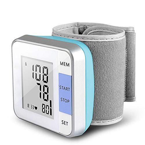Blutdruckmessgerät für das Handgelenk Herzschlag-Test Pulsuhr intelligente Digitalanzeige Armband Health Care-Handgelenk-Blutdruckmessgerät