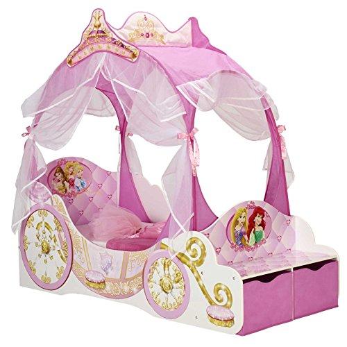 Disney Princess Transport Toddler Bed + Matelas entièrement Suspendue