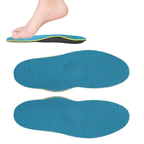 Plantillas de soporte de arco, plantillas de soporte de arco, plantillas ortopédicas Las plantillas de pies planos evitan la rotación externa del antepié y el talón Valgus mejora los pies planos(L)