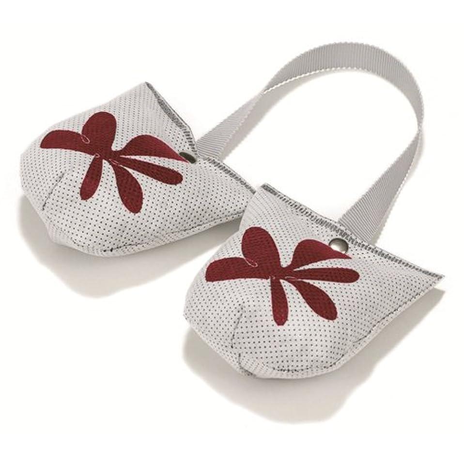 IOTC トゥキーパー レッド 靴の型崩れ防止 炭草花 脱臭 調湿 炭のチカラで快適に