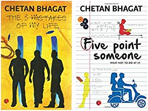 The 3 Mistakes of My Life + Five Point Someone ; What Not To Do at IIT (Set of 2 Books)