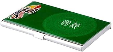 Chinoiserie Edelstahl Handelsname-Kredit-ID-Kartenhalter-Kasten,U