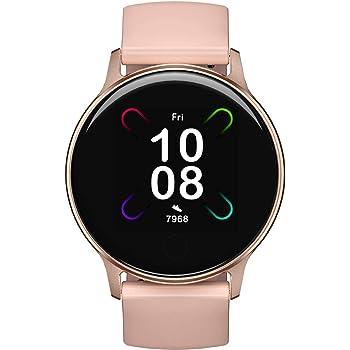 Smartwatch Donna, UMIDIGI Uwatch 3S Orologio Fitness Tracker Smart Watch con Monitor dell'ossigeno nel Sangue(SpO2), Impermeabile 5ATM, Cardiofrequenzimetro da Polso Activity Tracker per Android iOS