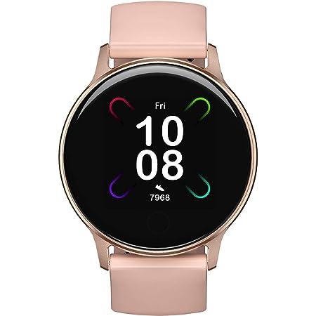 UMIDIGI Reloj Inteligente Uwatch 3S Fitness Tracker con Monitor de Oxígeno en Sangre y Monitor de Frecuencia Cardíaca para Mujeres Hombres 5ATM Impermeable con Brújula para iPhone Samsung y Android