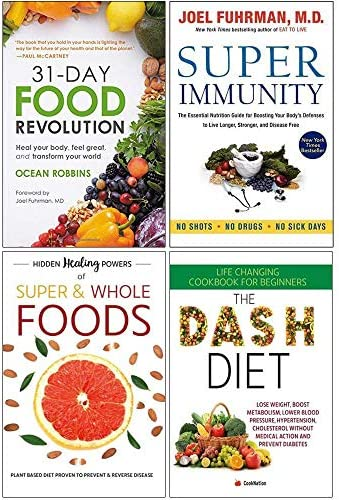31 Day Food Revolution Super Immunity Hidden Healing Powers Of Super Whole Foods The Dash Diet product image
