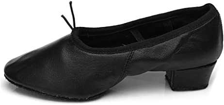 HIPPOSEUS Women's Latin Dance Shoes Ballroom Dance Practice Performance Shoes Model U101,Model U101