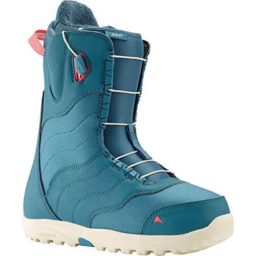 Burton Mint Snowboard Boots Womens Sz 8.5 Storm Blue