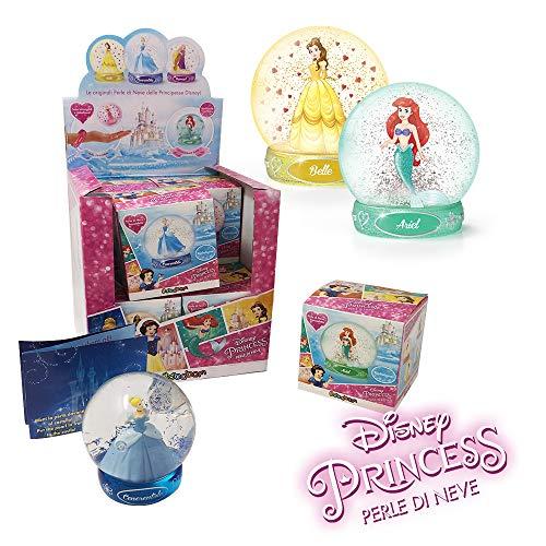 Sbabam- Disney Snow Globe-Pack con 2 Princesas con Pulseras mágicas, 056-19