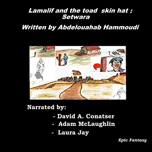 Lamalif and the Toad Skin Hat: Setwara audiobook cover art