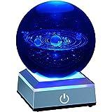 宇宙 クリスタルボール 80mm 太陽系