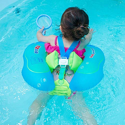 Zcm Swimming ring 1-6 Years Kids Swimming Ring for Child Inflatable Pool Float Ring Children Safety Anti-slip Baby Swimming Circle (Color : OG S Cover)