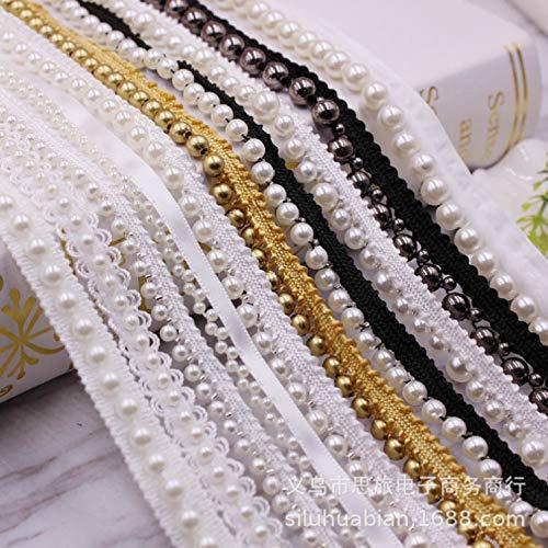 ribete de encaje blanco ribete de encaje blanco ribete de tela cintas de encaje para manualidades para disfraces gorras bolsos c