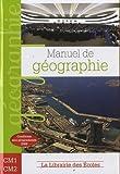 Manuel de géographie CM1 CM2