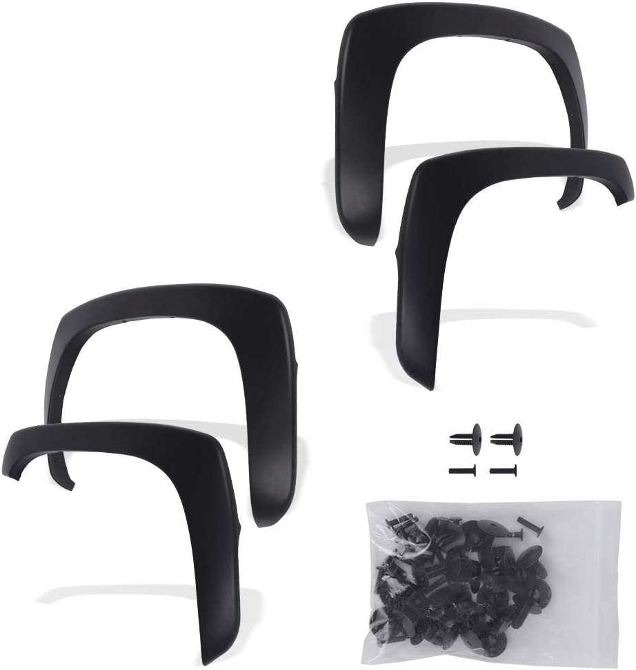 Fender Flares Kit Compatible Chevrolet Direct store for Silvera New Free Shipping 2001-2006