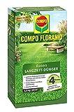 COMPO FLORANID Rasen Langzeit-Dünger, 4 Monate Langzeitwirkung, Feingranulat, 1,5 kg, 60 m²