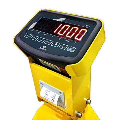 transpallet con bilancia Baxtran - Transpalleta pesatrice con stampante ARX2K (2000 kg x 500 g)