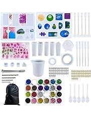 Siliconen hars mallen voor sieraden maken, Epoxy hars mallen, Sieraden gieten mallen, Hars Mould Kit, Hars hanger Molds, voor Bangle Hanger Earring Crystal sieraden maken, DIY Craft