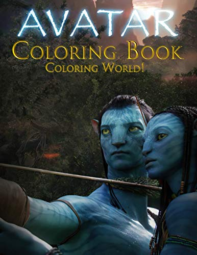 Coloring World! - Avatar Coloring Book: Creativity & Relaxation Coloring Books For Kids And Adults