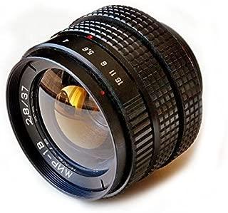 B 37mm f//2.8 M42 SLR Lens and lente Bayonet for m4//3 Panasonic Lumix Olympus Mir-1V