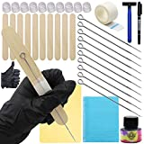 Hand Poke and Stick Tattoo Kit, CINRA Stick and Hand Poke Tattoo Kit Professional DIY Tattoo Kits with Tattoo Needles Practice Skin Tattoo Accessories for Tattoo Kit Supplies